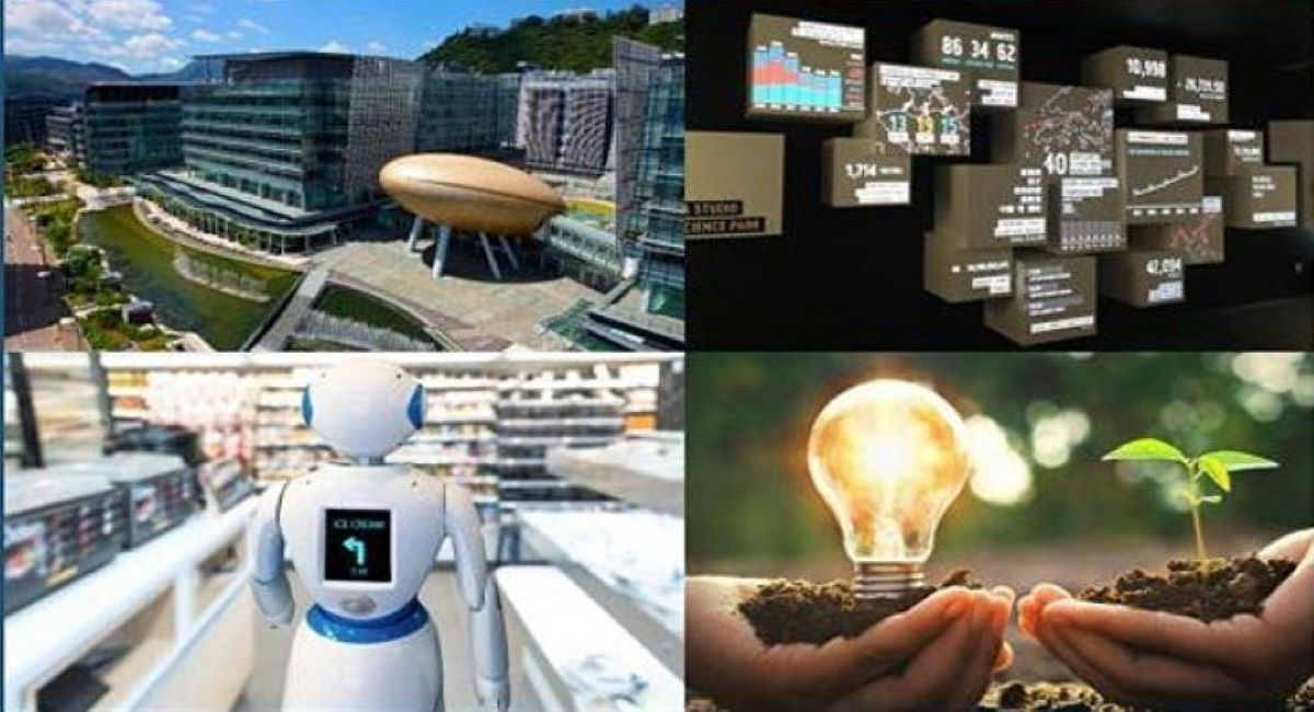 Hong Kong Science Tech Park - on stage